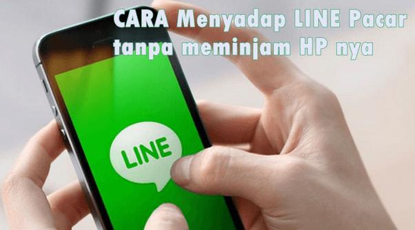 cara sadap line android
