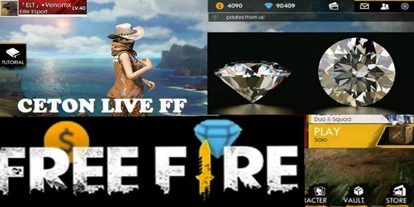 ceton live ff diamond gratis free fire