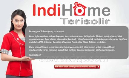 indihome terisolir