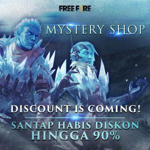 mystery shop free fire diskon 90%
