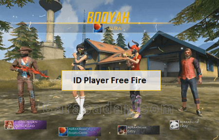 cara cek ID player free fire