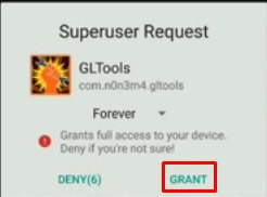 akses root gl tools