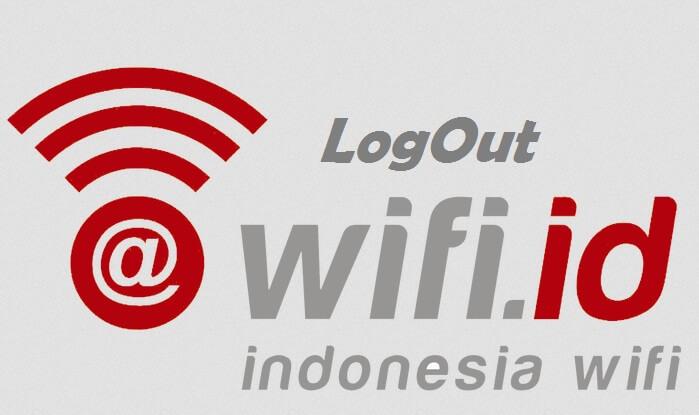 cara logout wifi id lewat hp dan pc
