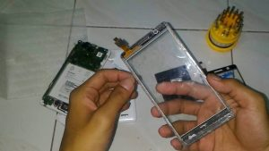 ganti touchscreen