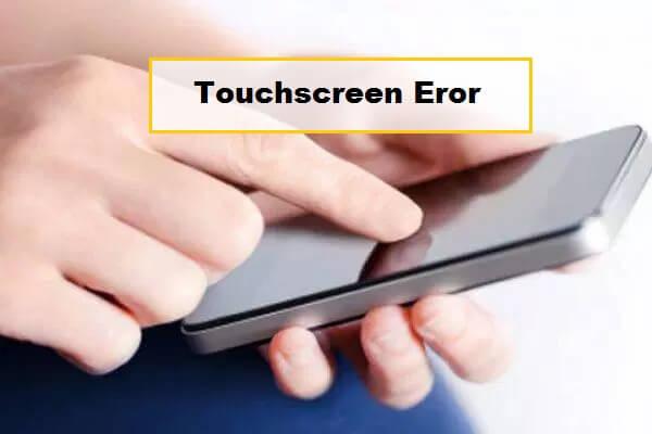 layar sentuh tidak berfungsi sama sekali