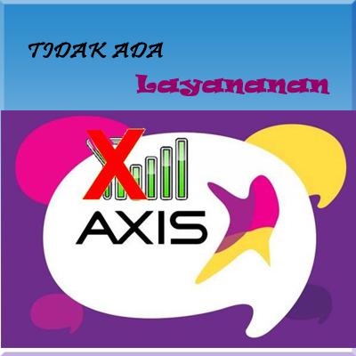 Cara mengatasi axis tidak ada layanan