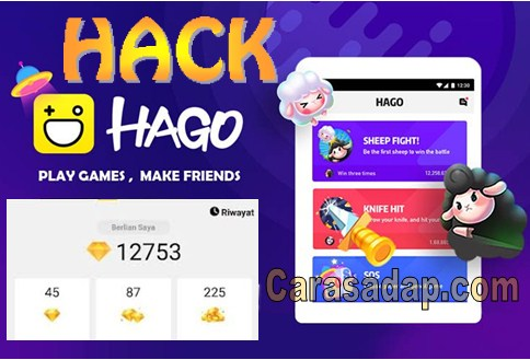 cara hack diamond hago