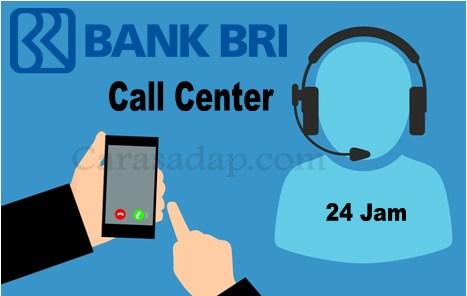 Call center BRI Bebas Pulsa 24 Jam Gratis