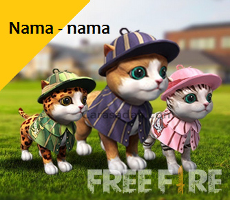 Nama pet free fire keren lucu dan bagus