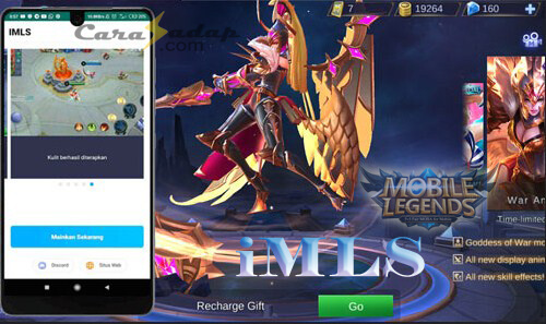 iMLS apk skin mobile legends