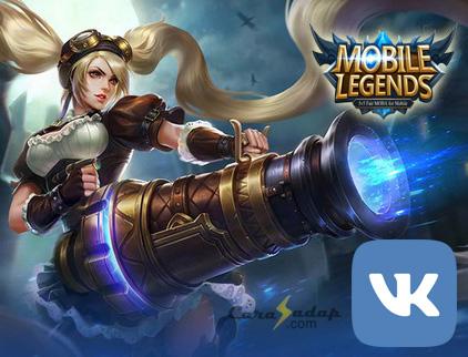 cara buat akun vk mobile legends