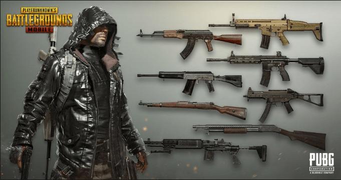 bolt action rifle pubg